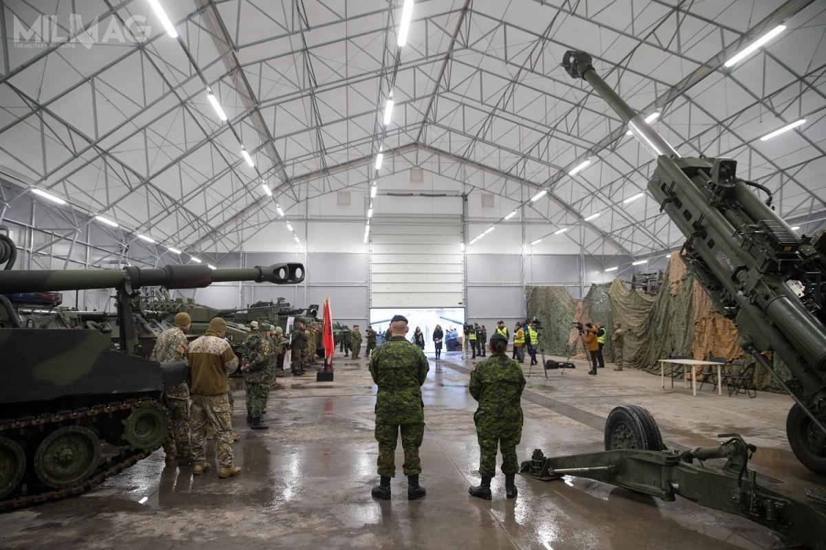Ministerstwo Obrony Łotwy planuje wciągu najbliższych czterech lat zainwestować wrozbudowę infrastruktury wojskowej 200 mln EUR / Zdjęcie: Gatis Diezinš/JIC