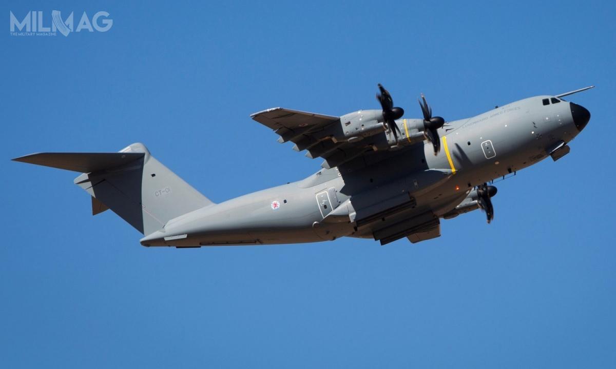 Luksemburg stał się formalnie siódmym użytkownikiem samolotów transportowych Airbus A400M-180 Atlas naświecie. Jak dotąd, europejska spółka Airbus Defence and Space dostarczyła 94 samoloty tego typu / Zdjęcie: Airbus Defence and Space