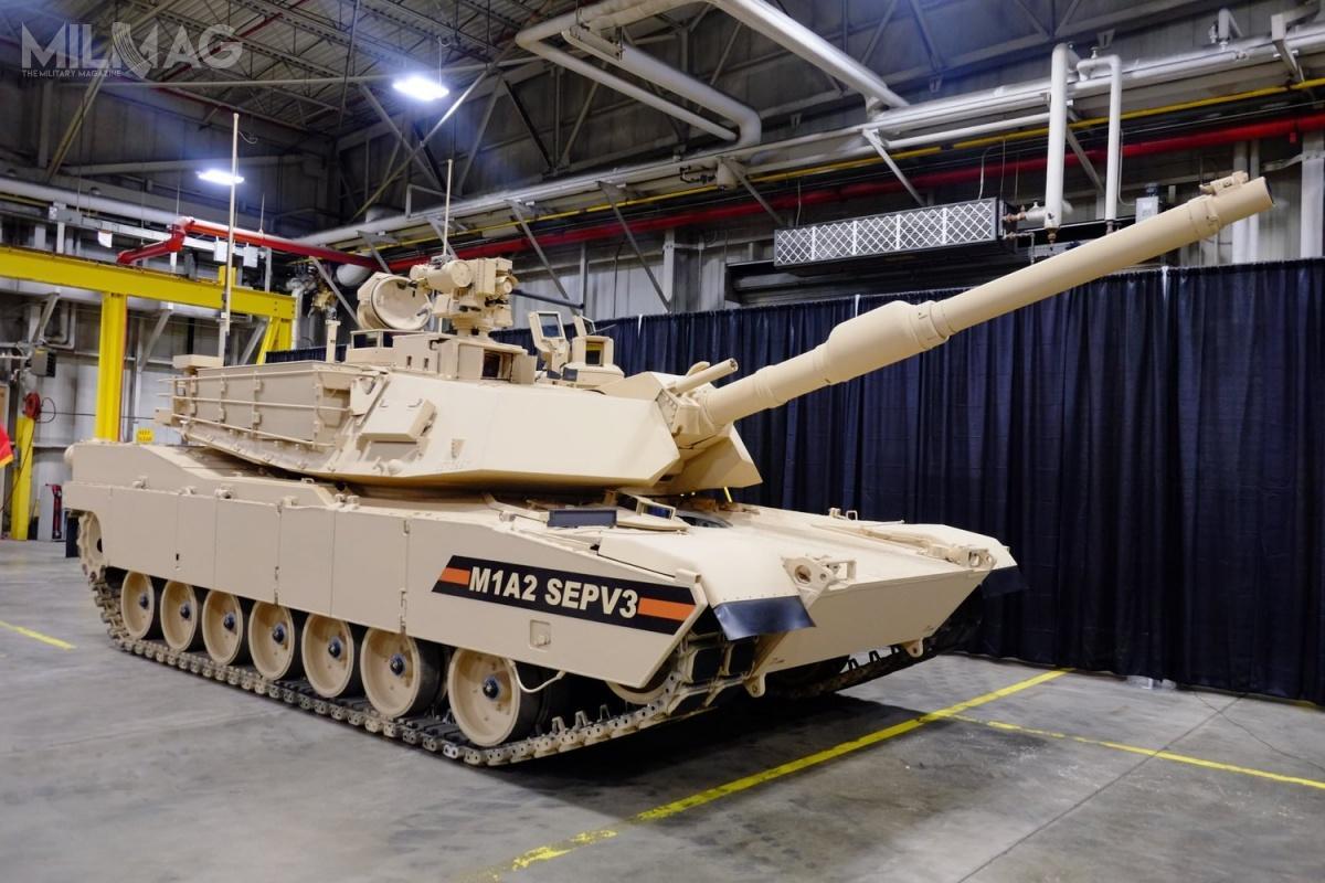 Obecnie realizowana umowa obejmuje modernizację 45 czołgów M1A2 SEPv2 inawet do435 zmagazynowanych M1A1 donajnowszego standardu. /Zdjęcie: GDLS