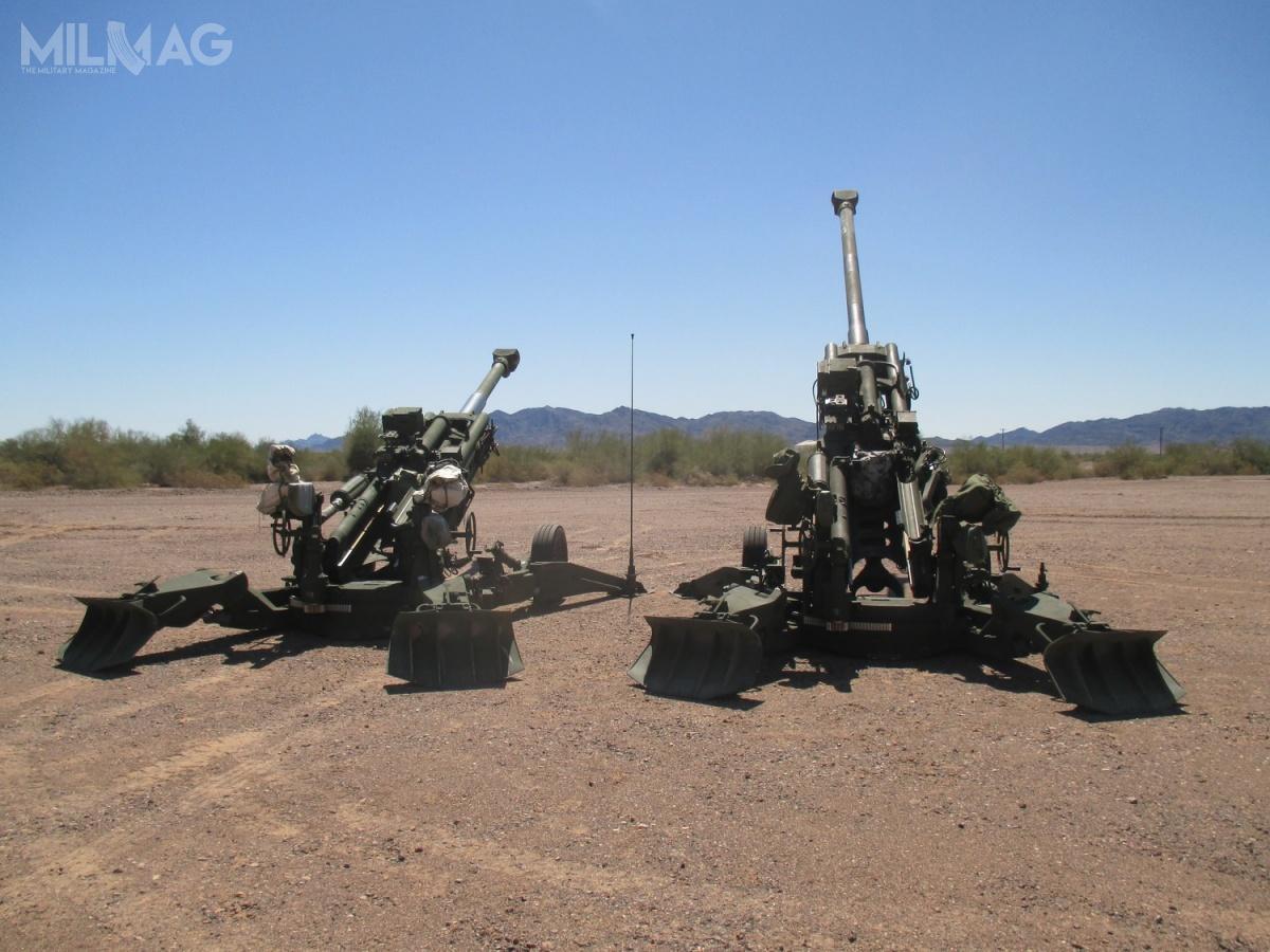 Podczas testów napoligonie Yuma Proving Ground przeprowadzono porównanie efektywności armatohaubic M777 iM777ER.
