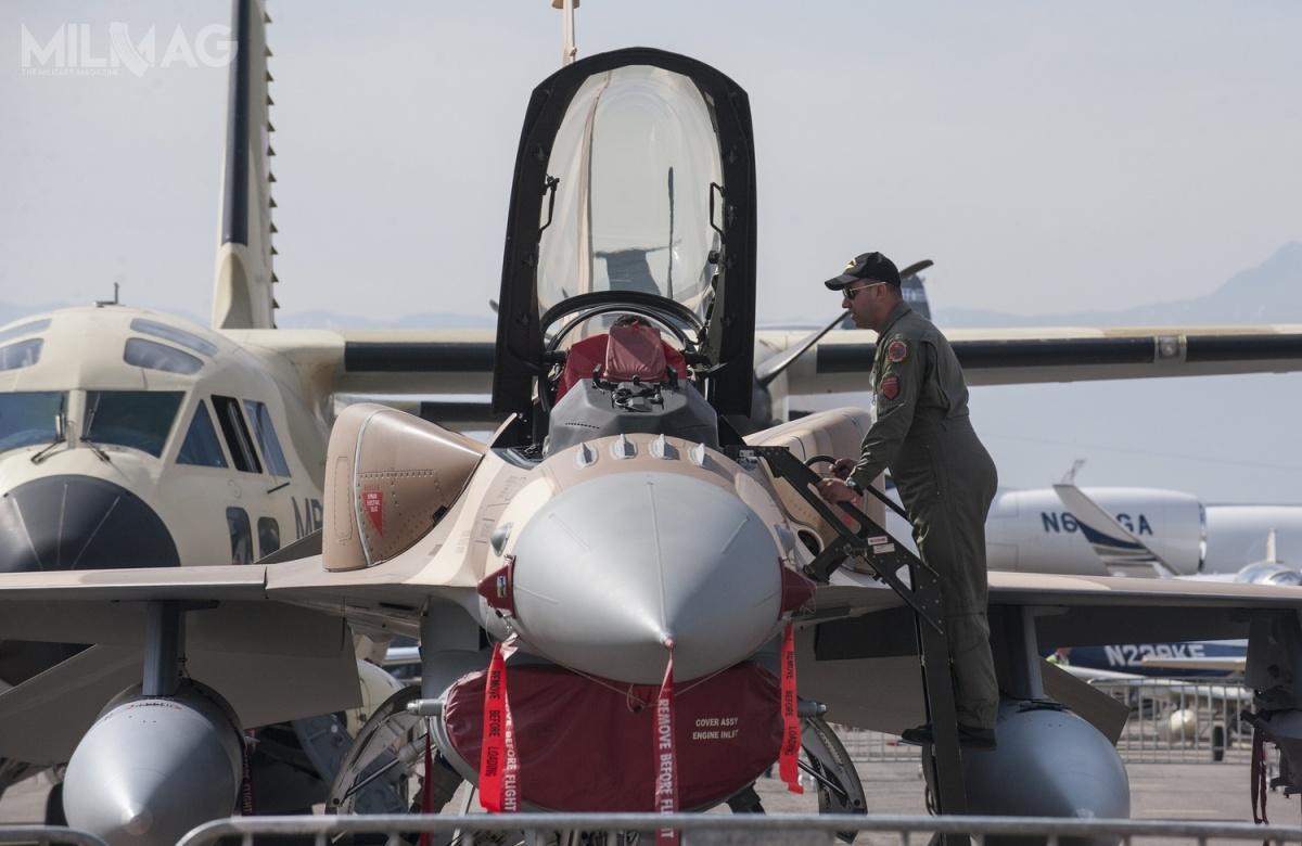 Gdy oba kontrakty zostaną podpisane izrealizowane, RMAF będą dysponować 48 myśliwcami wielozadaniowymi F-16C/D Block 72 (równoważnik F-16V). /Zdjęcie: Departament Obrony USA