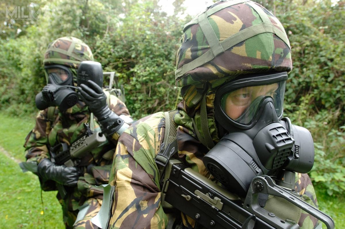 Griffin Group Defence dostarczy Straży Granicznej maski przeciwgazowych zfiltropochłaniaczami amerykańskiej spółki Scott Health & Safety / Zdjęcie: Griffin Group Defence
