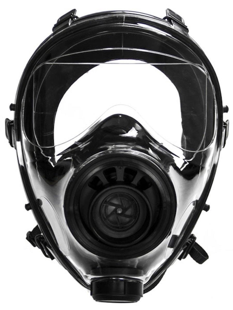 Warszawska spółka Mildat dostarczy Polskiej Policji 1870 masek przeciwgazowych pełnotwarzowych Metel Safety SGE 400/3 wzestawie wraz ztrzema filtropochłaniaczami. Wyposażenie trafi prawdopodobnie doOddziałów Prewencji iSamodzielnych Pododdziałów Prewencji wcałym kraju. Są przeznaczone dozabezpieczania oczu idróg oddechowych funkcjonariuszy przedzagrożeniami CBRN (chemicznymi, biologicznymi, radiologicznymi oraznuklearnymi). / Zdjęcie: Metel Safety