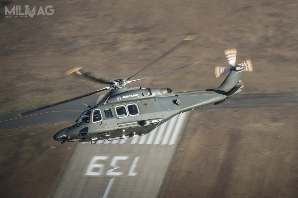 Wstępna propozycja MH-139 jako następcy UH-1N wUSAF została złożona 2marca 2017. /Zdjęcie: Boeing