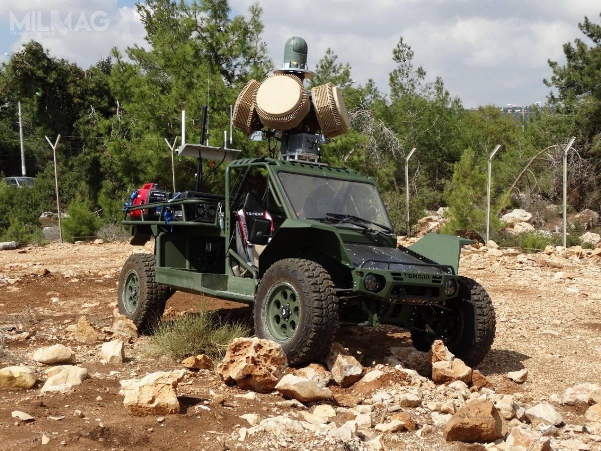 Radary MHR, zuwagi naswoje niewielkie wymiary, mogą być zintegrowane zlekkimi pojazdami. /Zdjęcie: RADA Electronic Industries