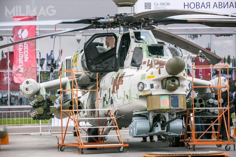Mi-28NE jest eksportowym wariantem Mi-28N, przeznaczonego dla rosyjskich sił zbrojnych / Zdjęcie: Wiertalioty Rossii