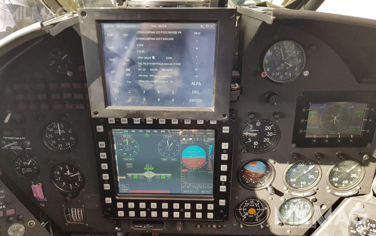 ITWL zaprojektowało napotrzeby modernizacji Uniwersalny System Pokładowy doZwiększania Potencjału Bojowego Śmigłowców Wojskowych. Pilot ioperator uzbrojenia moga wyświetlać najważniejsze dane nanawielofunkcyjnych ekranach zabudowanych wobydwu kabinach