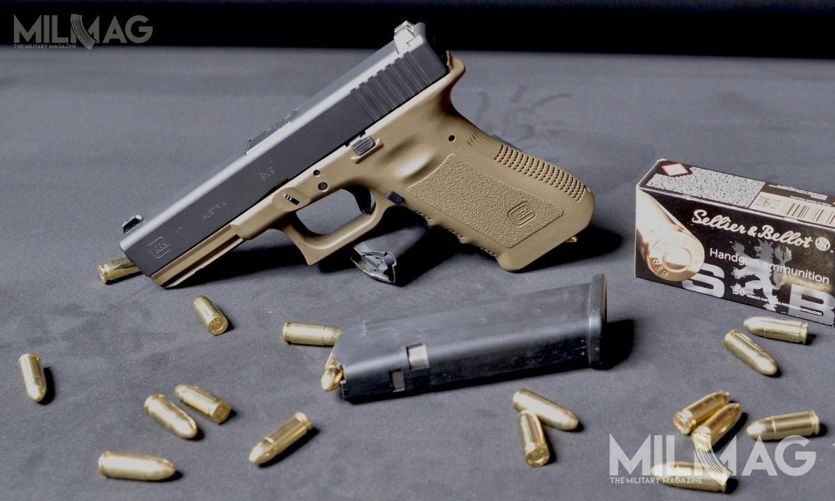 Komenda Główna Policji opublikowała informację zotwarcia ofert wpostępowaniu przetargowym nadostawę 17 797 700 naboi pistoletowych 9mm x 19 / Zdjęcie: Paweł Ścibiorek