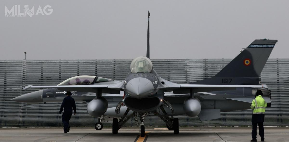 W 2021 rumuńskie wojska lotnicze mają liczyć łącznie 17 samolotów wielozadaniowych F-16AM/BM Block 15 MLU / Zdjęcie: ministerstwo obrony Rumunii