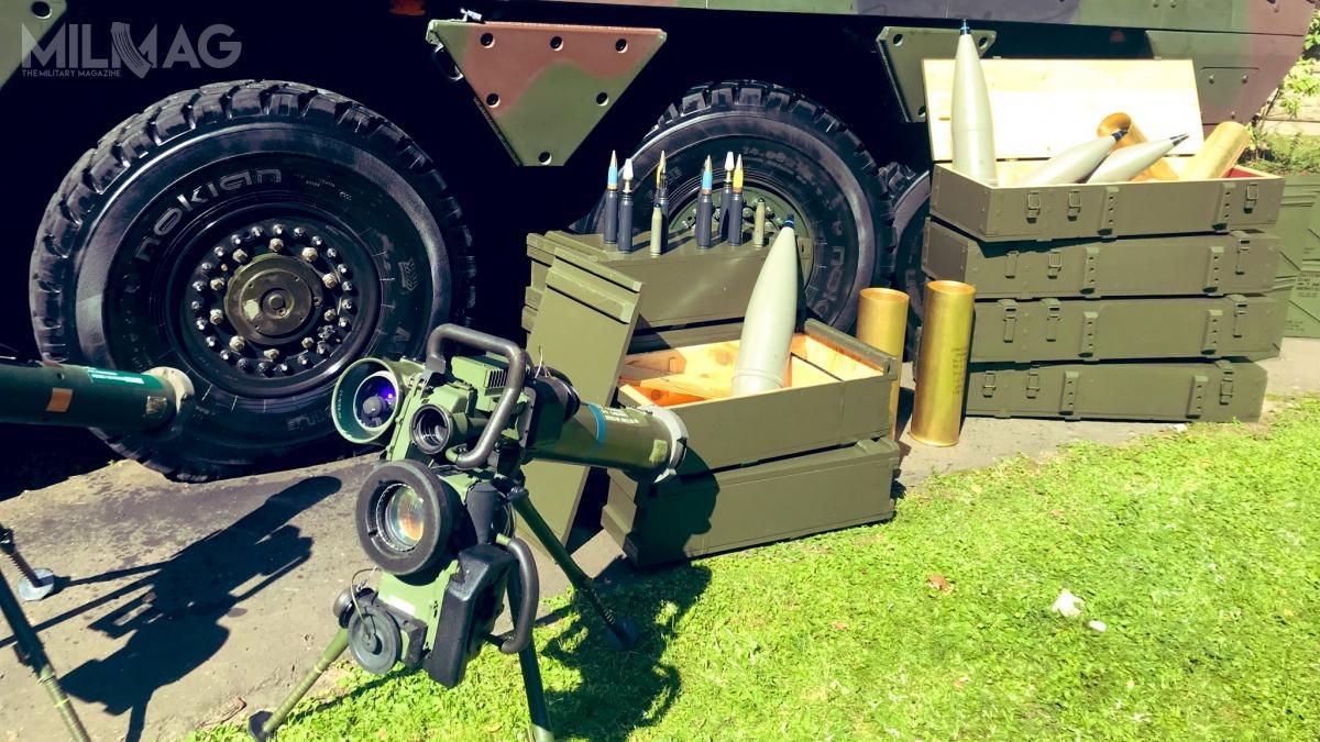 MON zamówił amunicję średniokalibrową 30 mm x 173 oraz23 mm x 151 orazartyleryjską kalibrów 122 i152 mm. / Zdjęcia: Ministerstwo Obrony Narodowej