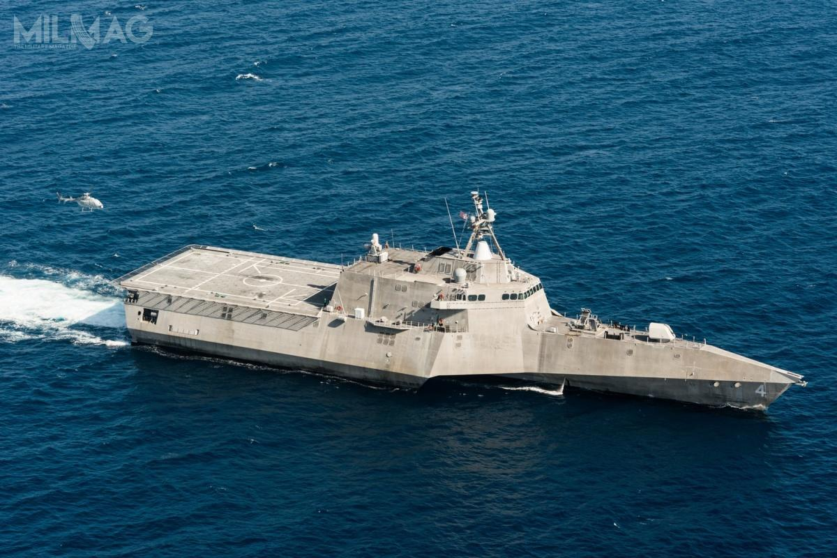 Wyniki testów wykażą jak dalej ma przebiegać integracja MQ-8C zfregatami rakietowymi klasy LCS ipotencjalnie innymi okrętami wojennymi amerykańskiej marynarki wojennej. /Zdjęcia: US Navy