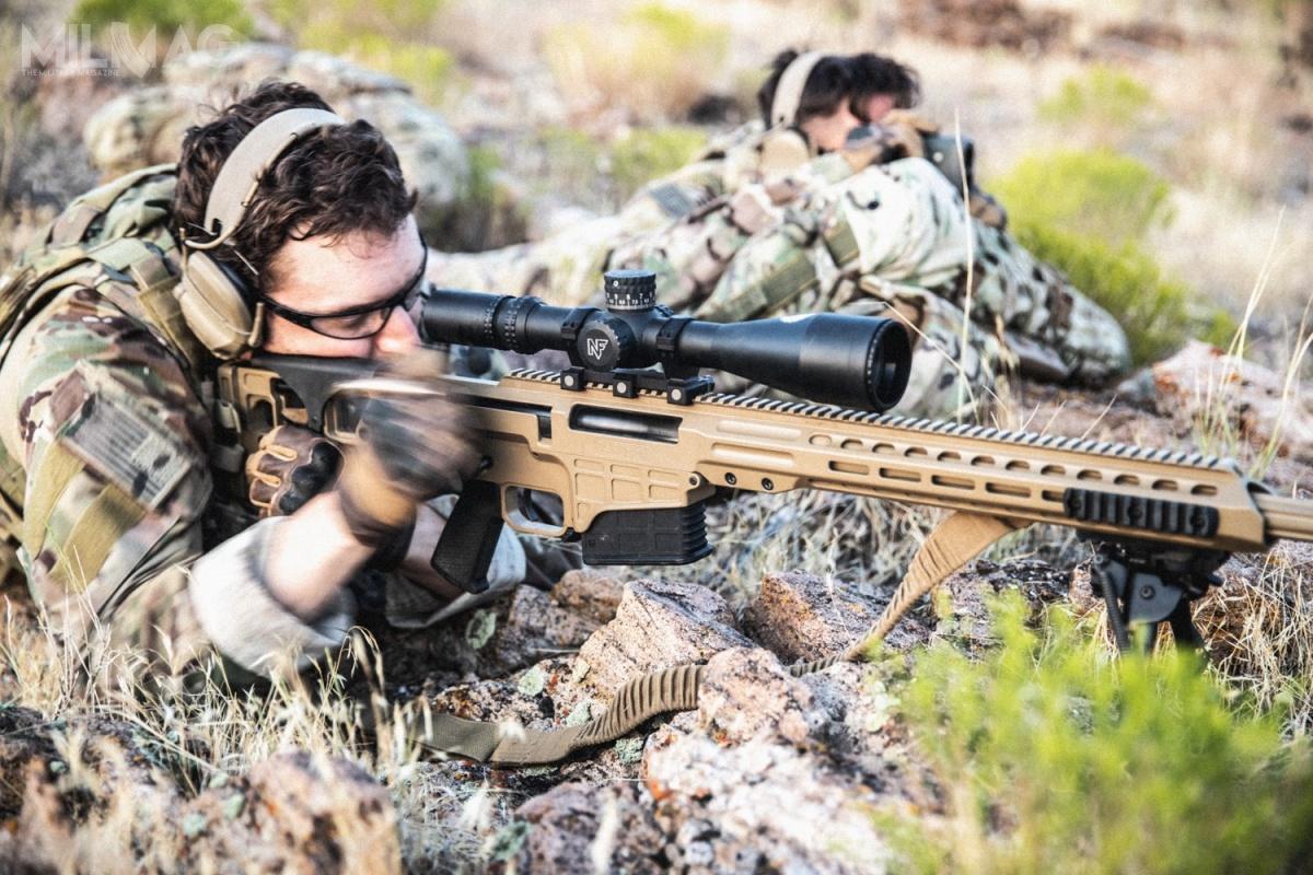 Mk 22 ASR tozmilitaryzowana wersja karabinu Barrett MRAD (Multi-Role Adaptive Design) / Zdjęcie: Barrett