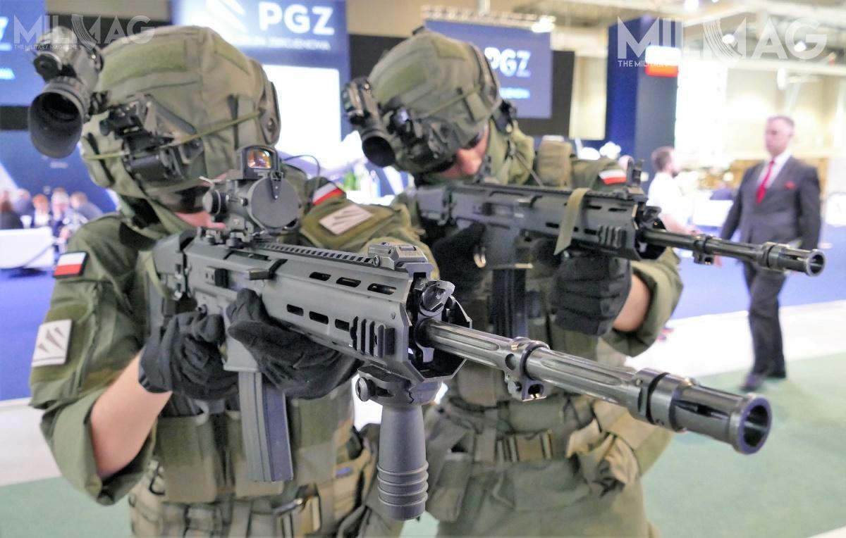 Wprowadzenie 5,56-mm karabinków automatycznych MSBS-5,56K douzbrojenia żołnierzy Wojsk Obrony Terytorialnej przyśpieszy proces przezbrajania wnową konstrukcję także wojsk operacyjnych
