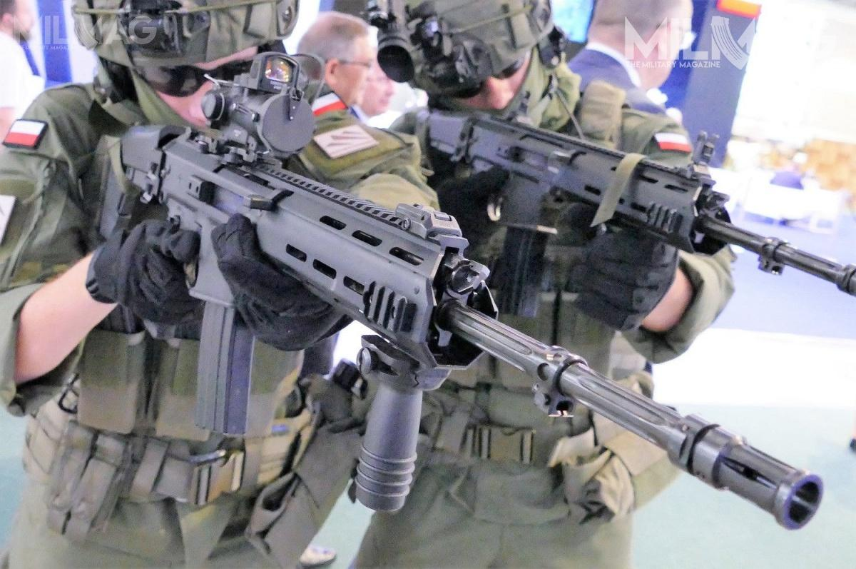 MILMAG also learned that at, or just after the MSPO a new contract for delivery of 50.000 Grot carbines (MSBS-5,56 base models) will be signed.