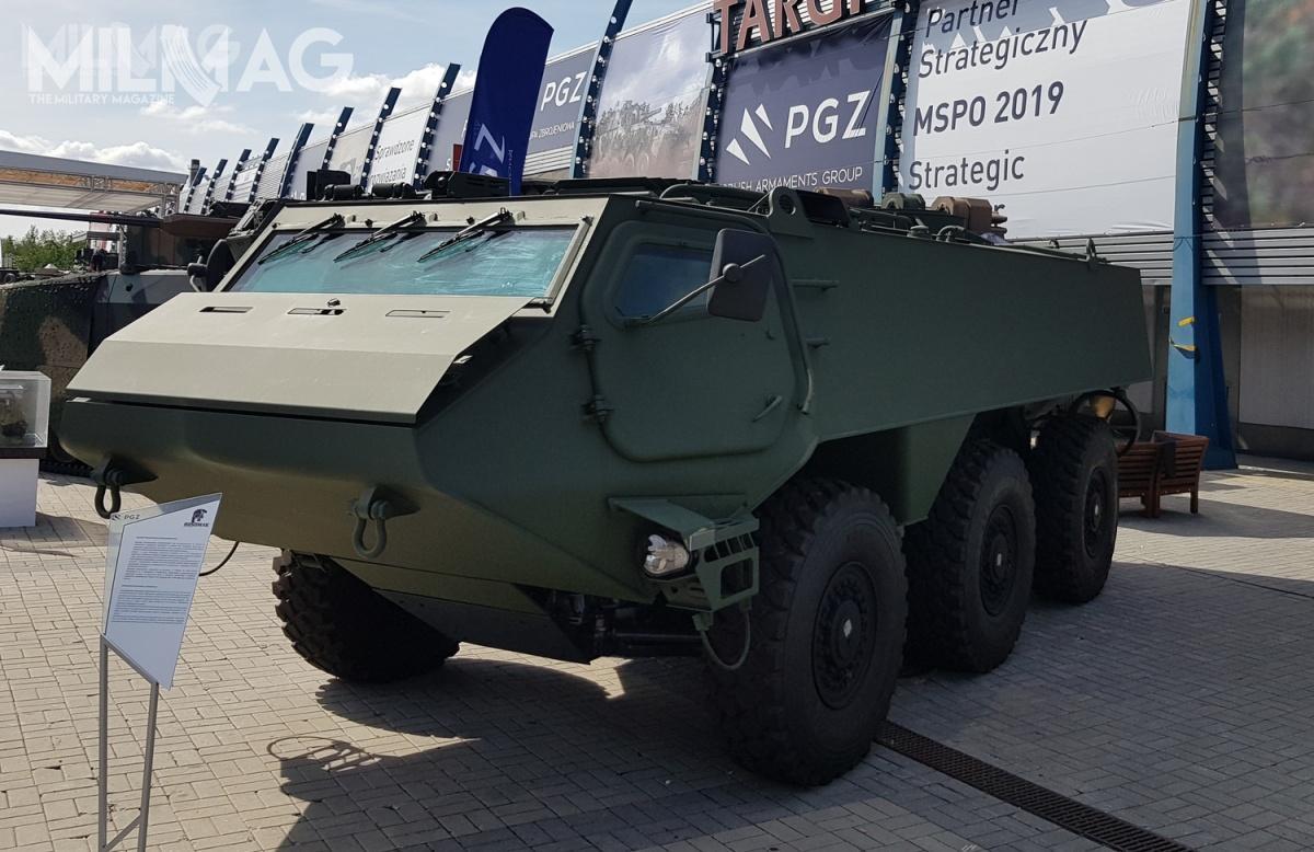 Prezentowany pojazd ma 7,5 m długości, 2,5 m wysokości i2,9 m szerokości. Maksymalna ładowność wynosi 8500 kg, adopuszczalna masa całkowita 22 000 kg. Wysoka ładowność gwarantuje, żenawet przy zastosowaniu ochrony balistycznej napoziomie 4(opcjonalnie) pozwala tonawszechstronne zastosowania iintegrację zróżnymi systemami.