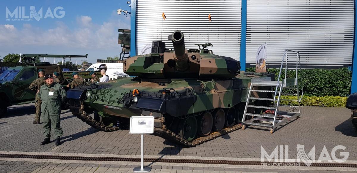 Zaprezentowany Leopard 2PL jest jednym zpięciu, dotąd przekazanych zamawiającemu, zmodernizowanych wozów