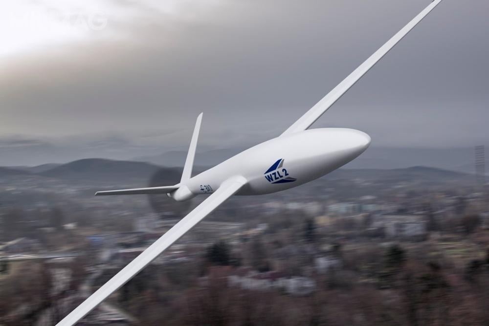 PGZ-19R Orlik, oparty nademonstratorze technologii E-310, ma 3,1 m długości, 5,25 m rozpiętości skrzydeł i1,07 m wysokości. Maksymalna masa startowa wynosi 90 kg, audźwig to20 kg. Został wyposażony wszczelinowy radar zaperturą mini SAR zGMTI obardzo wysokiej rozdzielczości. Może wykonywać loty odługości do12 h napułapie do5000 m. Prędkość maksymalna to180 km/h, apromień działania 150 km / Grafika: PGZ