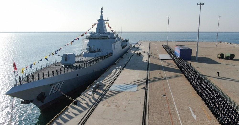 Typ 055 są uważane przezekspertów zanajbardziej zaawansowane technologicznie okręty zbudowane wChinach