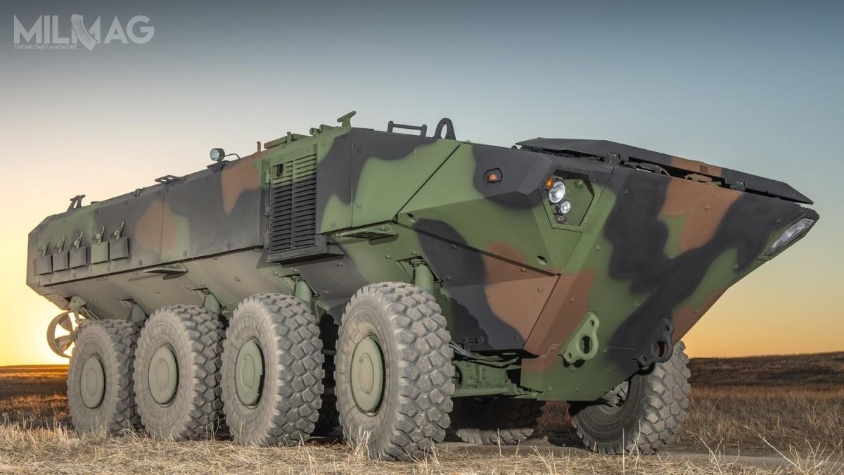Rozwijany wspólnie zIveco Defence Vehicles pływający transporter opancerzony ACV bazuje nabrytyjsko-włoskich pojazdach typu SuperAV/Freccia/Centauro. Nowe pojazdy  (nawet 600 egzemplarzy), będą zastępować 870 transporterów AAV-7A1, które pozostają wsłużbie od1972 / Zdjęcie: BAE Systems