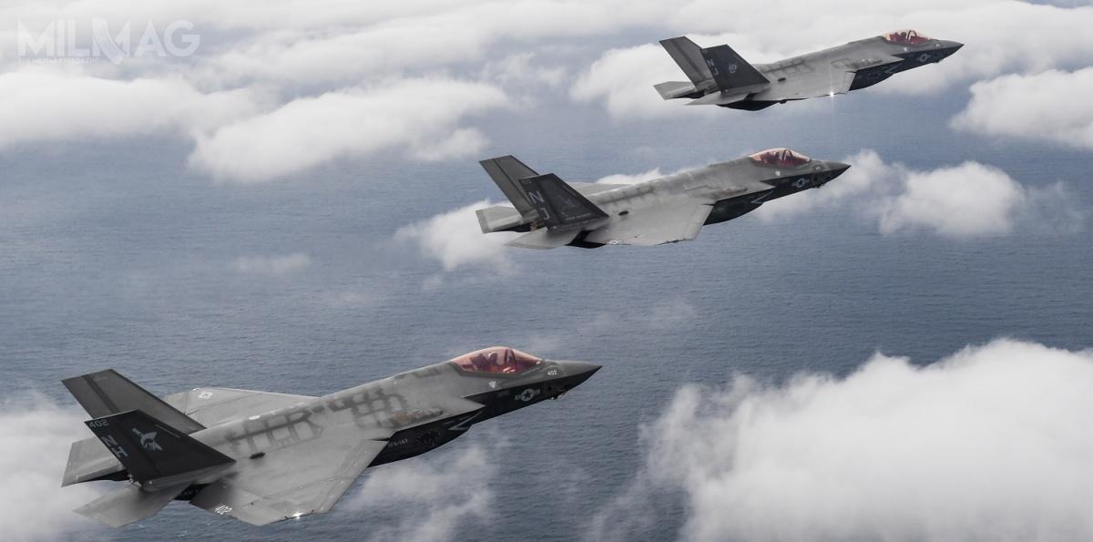 F-35C znajdują się obecnie wUS Navy nawyposażeniu jednej eskadry liniowej (VFA-147 Argonauts) idwóch przejściowych (VFA-125 Rough Raiders iVFA-101 Grim Reapers)