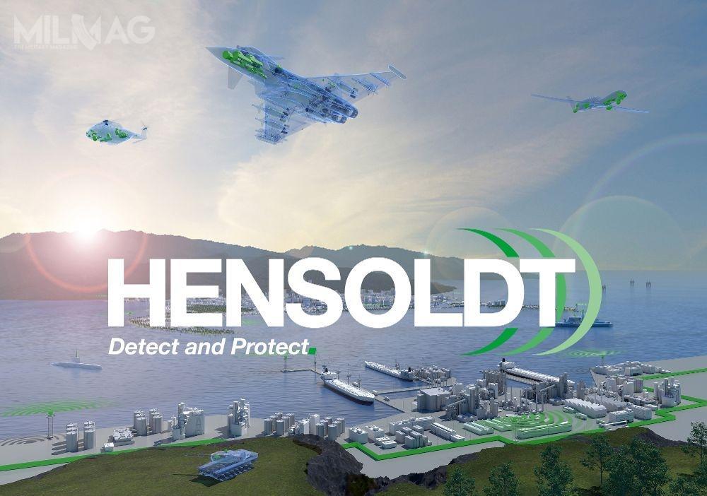 Niemiecki rząd federalny zamierza wykupić ponad jedną czwartą akcji wielonarodowej spółki Hensoldt, specjalizującej się wprodukcji m.in.radarów, optoelektroniki iawioniki lotniczej. / Grafika: Hensoldt