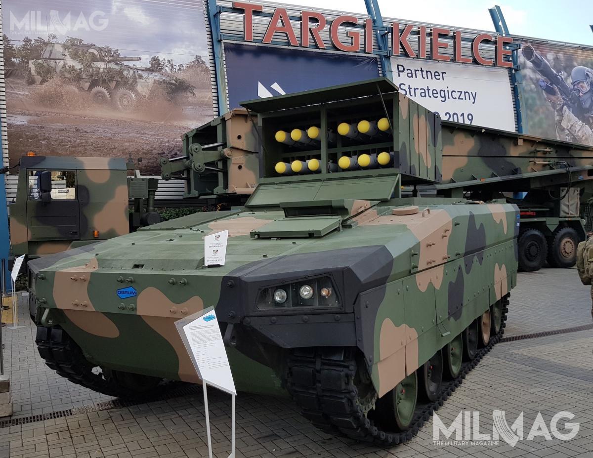 OBRUM zaprezentował niszczyciel czołgów oparty nabazie Uniwersalnej Modułowej Platformy Gąsienicowej