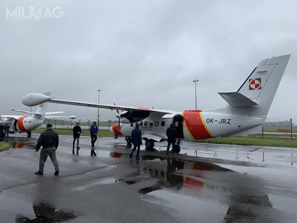 Samoloty L 410 UVP E-20 zostały zamówione przezStraż Graniczną wraz zwyposażeniem patrolowo-rozpoznawczym / Zdjęcia: Magdalena Karska, JB Investments Jan Borowski