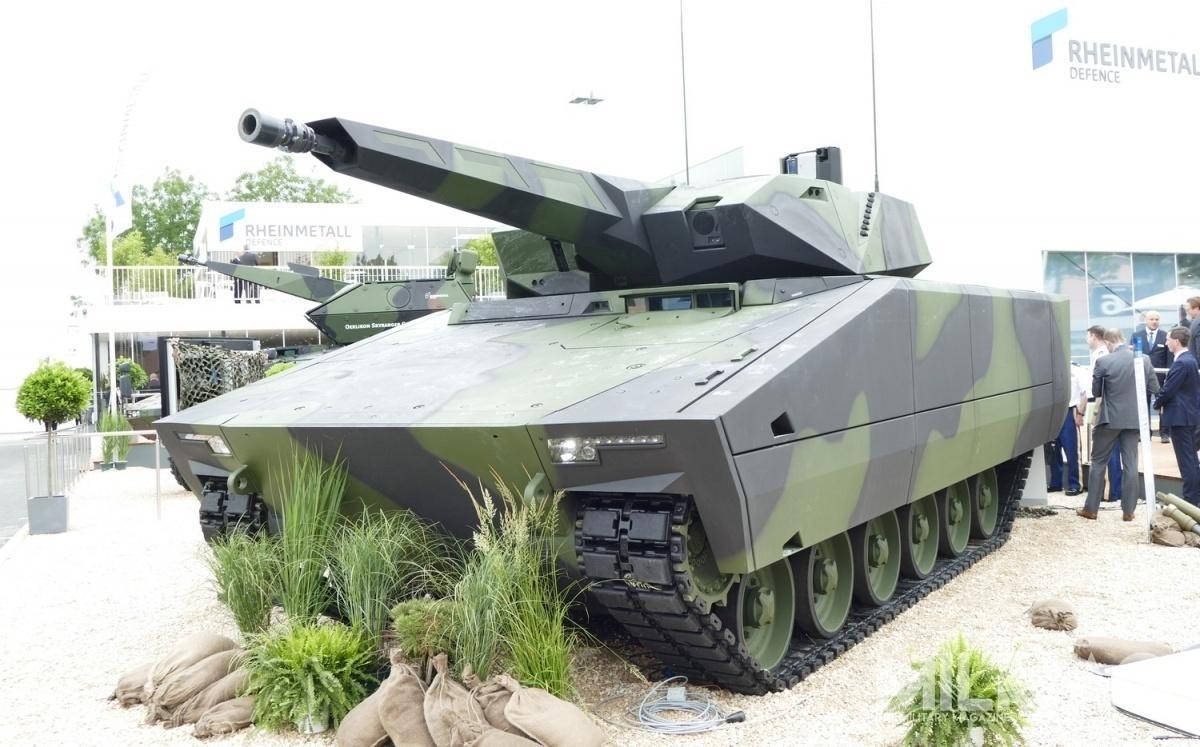 Rheinmetall chce poraz drugi zaoferować amerykańskim wojskom lądowym bojowy wóz piechoty KF41 Lynx, potym jak wpaździerniku ub. r. został on zdyskwalifikowany, gdyżNiemcy niedostarczyli prototypu natesty wwyznaczonym uprzednio terminie. / Zdjęcie: Remigiusz Wilk