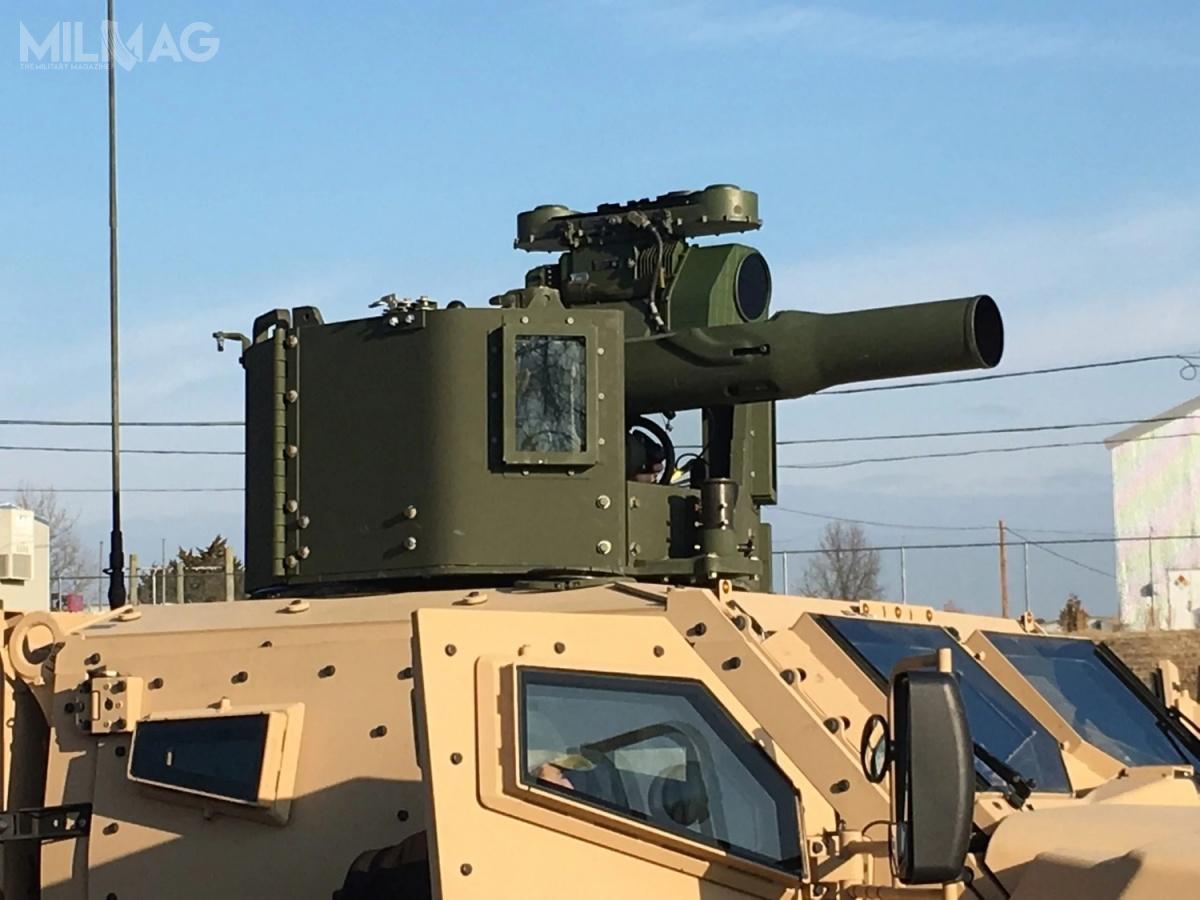 Obrotnica TOGPK 2.0 zapewni większą ochronę dla wyrzutni ppk TOW, przy zachowaniu niezmienionej masy całkowitej, atakże lepsze pole obserwacji co ma skrócić czas reakcji / Zdjęcie: US Army