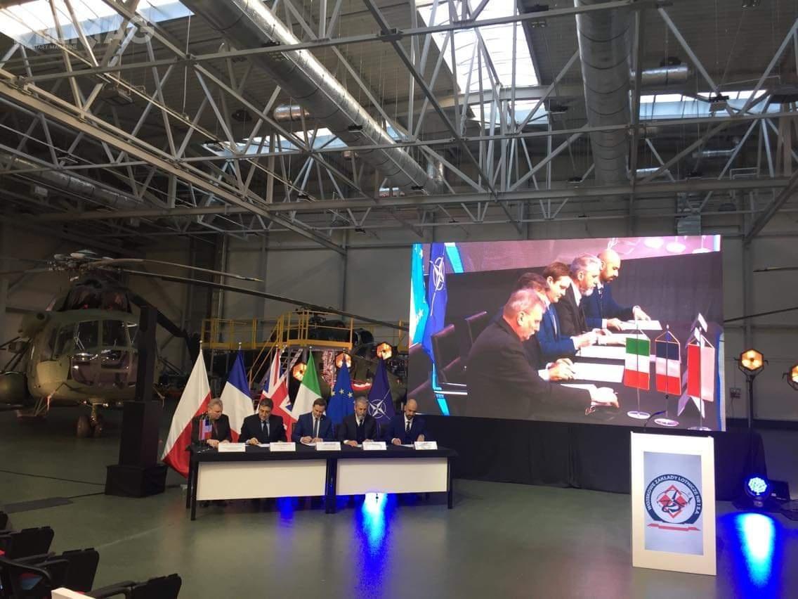 Umowa offsetowa przewiduje łącznie 9zobowiązań, wtym powstanie Centrum Wsparcia Eksploatacji Śmigłowców wŁodzi. Jej celem jest ustanowienie iutrzymanie naterytorium Polski potencjału przemysłowego umożliwiającego obsługę nowoczesnych śmigłowców