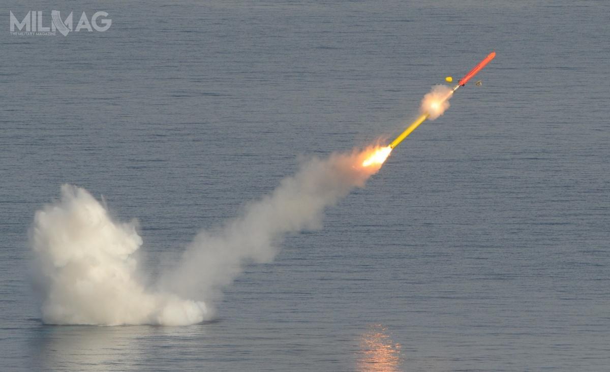 MdCN/NCM jest pociskiem manewrującym przeznaczonym dozwalczania nieruchomych celów powierzchniowych nadystansie ocenianym na1000-1 400 km. Pocisk powstał nabazie francusko-brytyjskiego lotniczego pocisku manewrującego SCALP/Storm Shadow. /Zdjęcie: MBDA