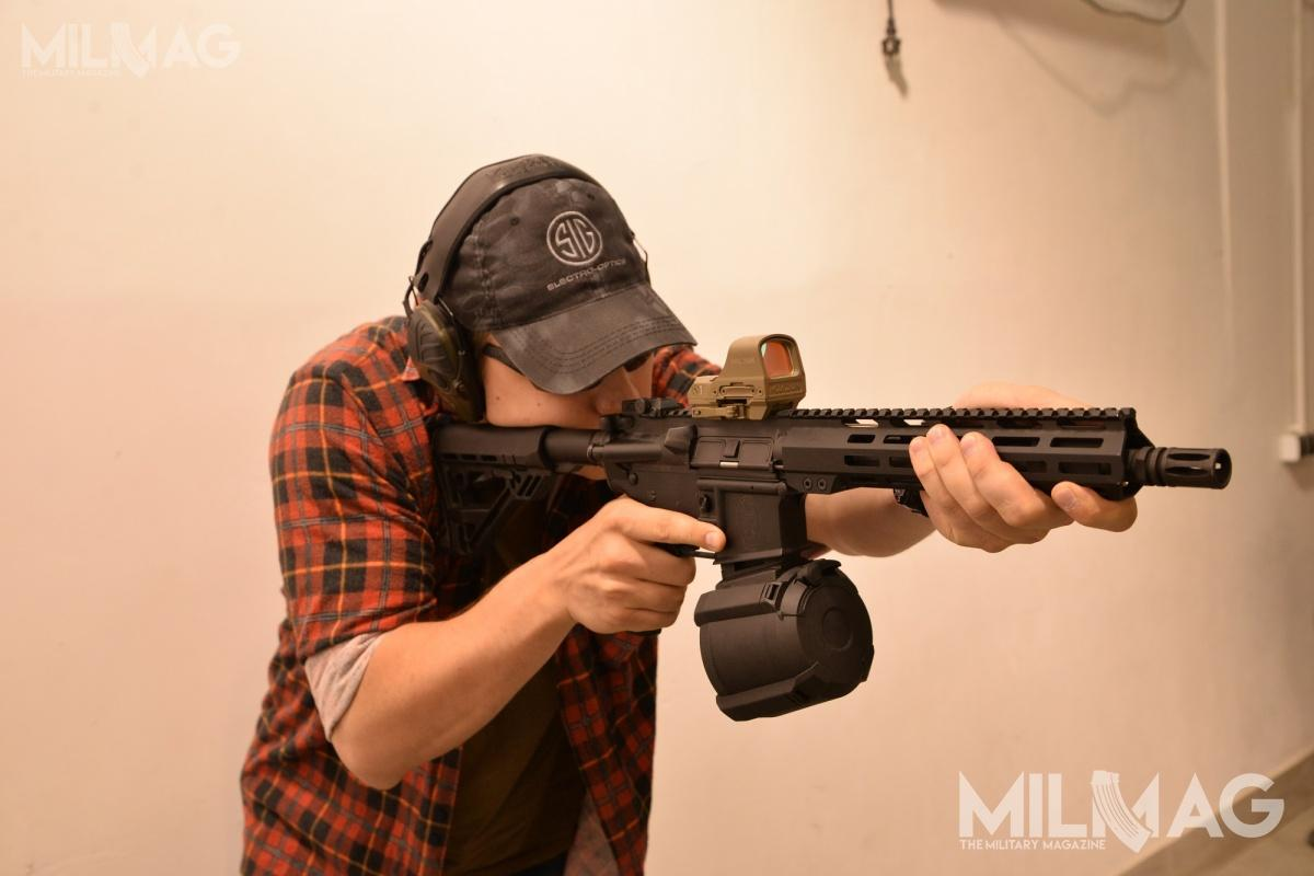 Every interested person was able to see and try the Radom`s AR-15s at the FSO range on the 9th and 10th of July.