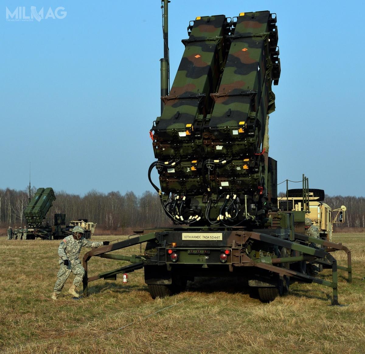 W ramach kwoty 16,6 mld zł przewidzianej narealizację pierwszej fazy programu Wisła, Wojsko Polskie otrzyma dwie baterie zmodernizowanego systemu MIM-104F Patriot PAC-3+  wraz zsieciocentrycznym zintegrowanym systemem dowodzenia IBCS. /Zdjęcie: US Army