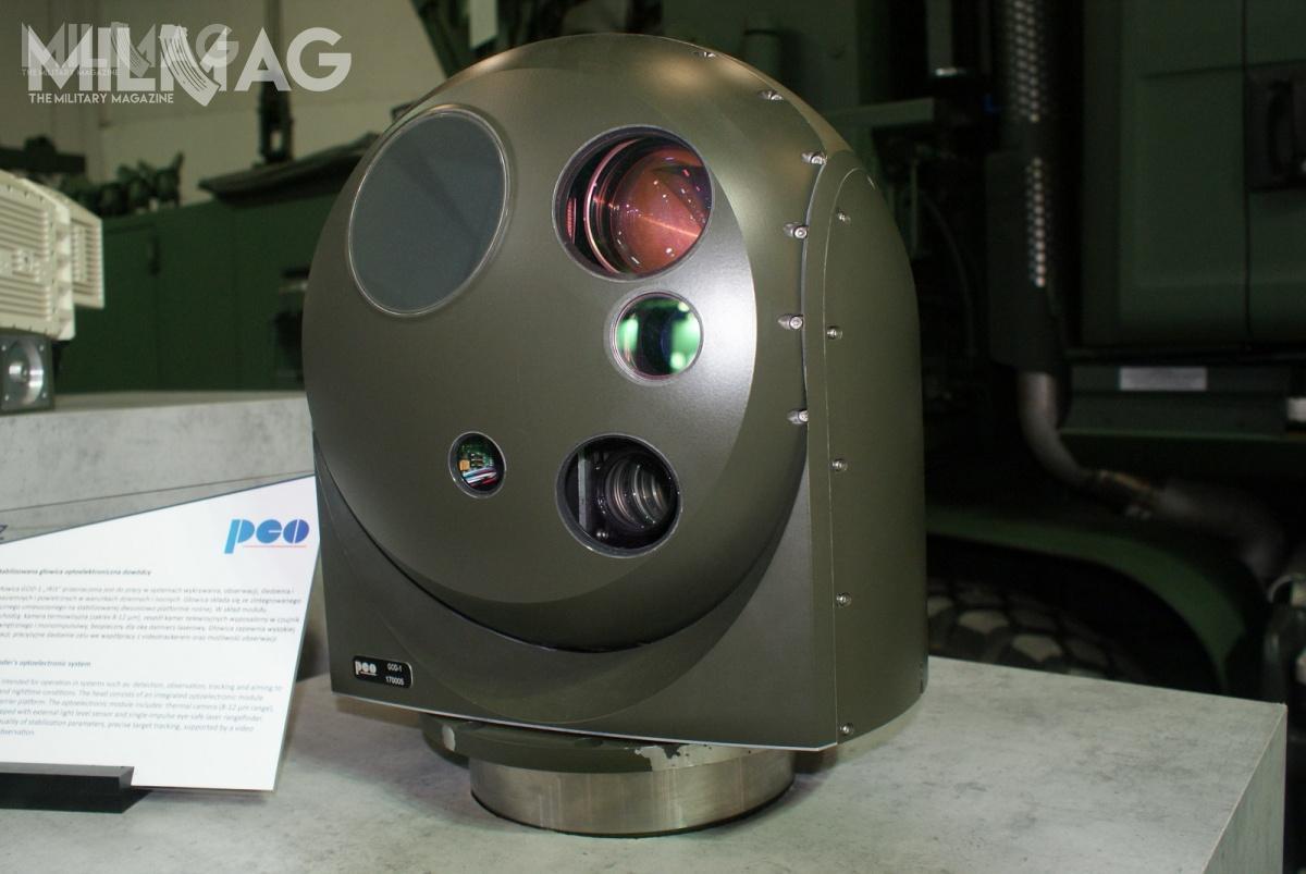 PCO zaprezentowała głowice optoelektroniczne GOD-1 Iris orazGOC-1 Nike, które zastosowane zostały wzdalnie sterowanym systemie wieżowym ZSSW-30.
