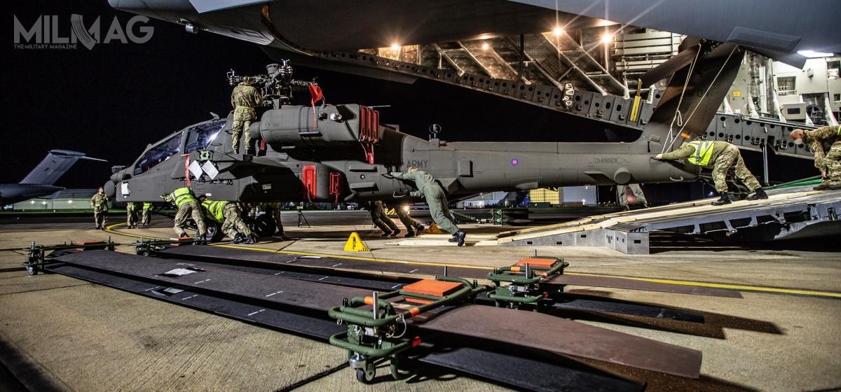 Brytyjskie Apache AH1 są przebudowywane donajnoweszej wersji AH-64E v6 / Zdjęcia: ministerstwo obrony Wielkiej Brytanii