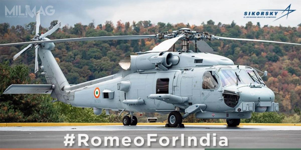 Indie dołączają dolisty eksportowych użytkowników wielozadaniowych śmigłowców morskich MH-60R Seahawk, wśród którychmożna wymienić Arabię Saudyjską (10 egzemplarzy), Australię (24 egzemplarze) iDanię (7). Głównym użytkownikiem pozostaje amerykańska marynarka wojenna, któraużytkuje ponad pół tysiąca egzemplarzy, licząć wraz zestarszymi HH-60SG Pave Hawk iMH-60S Seahawk/ Zdjęcie: Lockheed Martin India