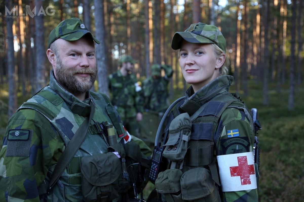 Zmiana sytuacji politycznej wEuropie orazbraki kadrowe wymusiły naSzwecji przywrócenie obowiązkowej służby wojskowej dla kobiet imężczyzn / Zdjęcia: Ministerstwo Obrony Szwecji