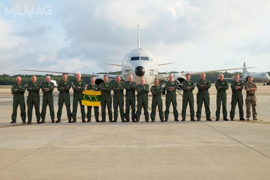 Brytyjscy piloci, oficerowie systemów uzbrojenia iich operatorzy rozpoczęli sześciomiesięczny kurs wStanach Zjednoczonych. Od2020 pierwsze samoloty będą realizować misje patrolowe nadpółnocnym Atlantykiem iwArktyce. / Zdjęcia: Ministerstwo Obrony Wielkiej Brytanii