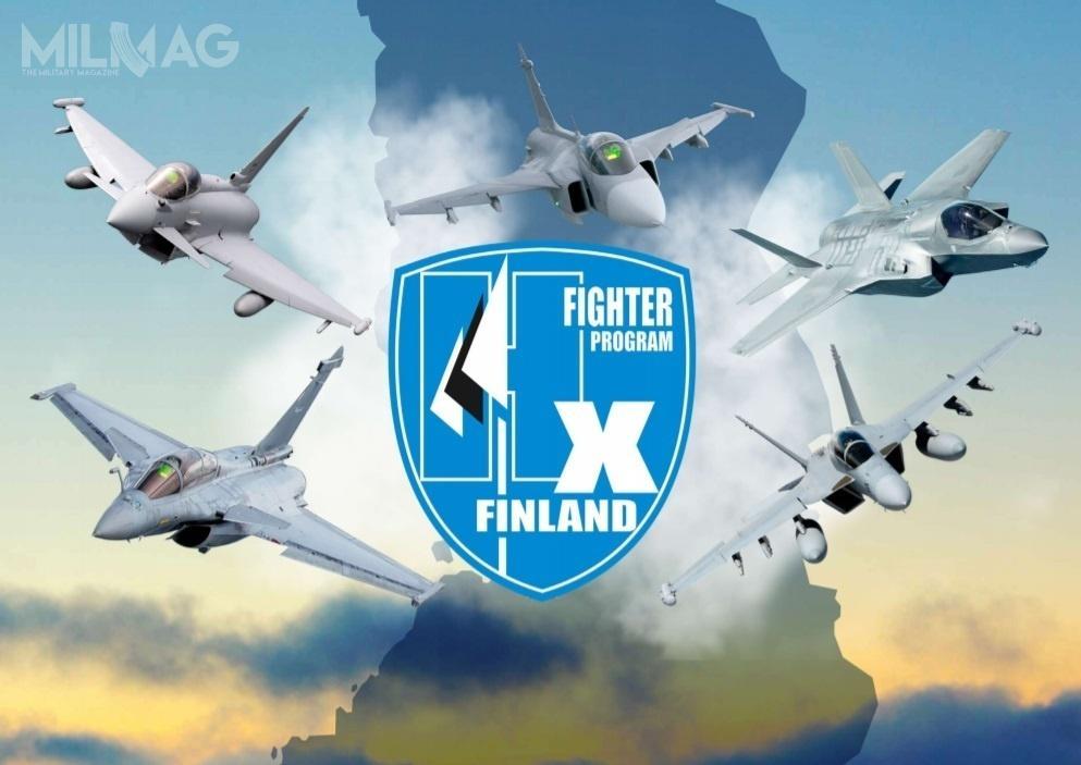 Dowództwo Logistyczne Sił Obronnych Finlandii wysłało zaproszenia doskładania ostatecznych ofert wprogramie zakupu 64 samolotów wielozadaniowych okryptonimie HX / Grafika: ministerstwo obrony Finlandii