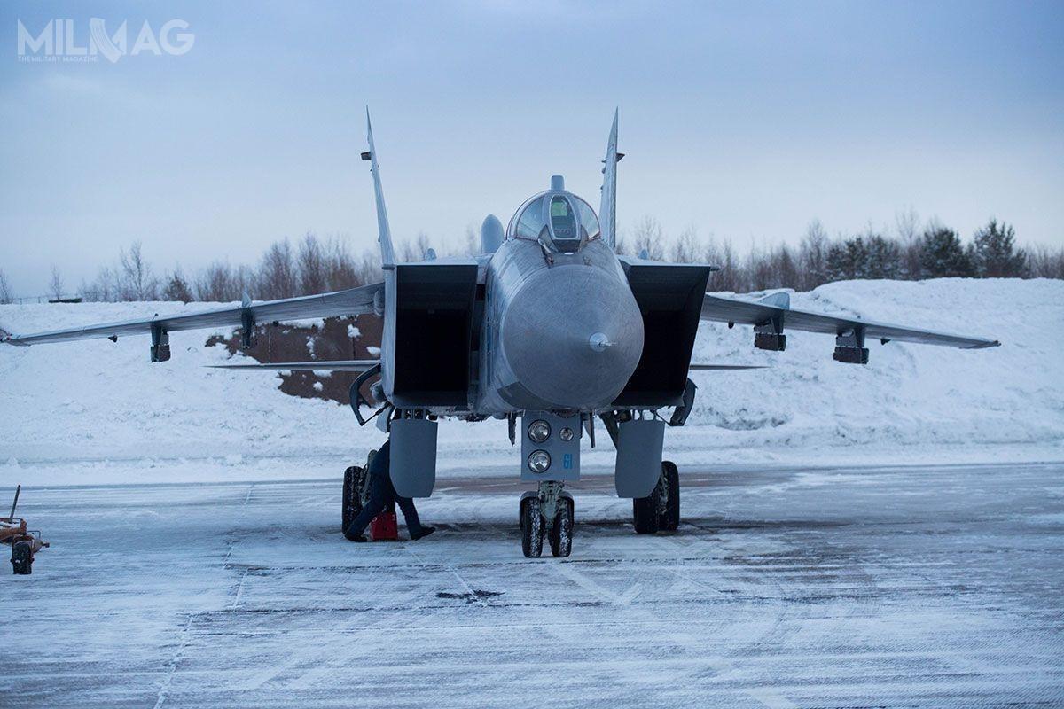 Rosyjska państwowa korporacja Rostech ogłosiła rozpoczęcie prac rozwojowych nadsamolotem przechwytującym nowej generacji, oznaczonym jako MiG-41 wramach programu PAK DP. Miałby tobyć następca ciężkich samolotów przechwytujących MiG-31, modernizowanych dostandardu BM iBSM. / Zdjęcie: ministerstwo obrony Federacji Rosyjskiej