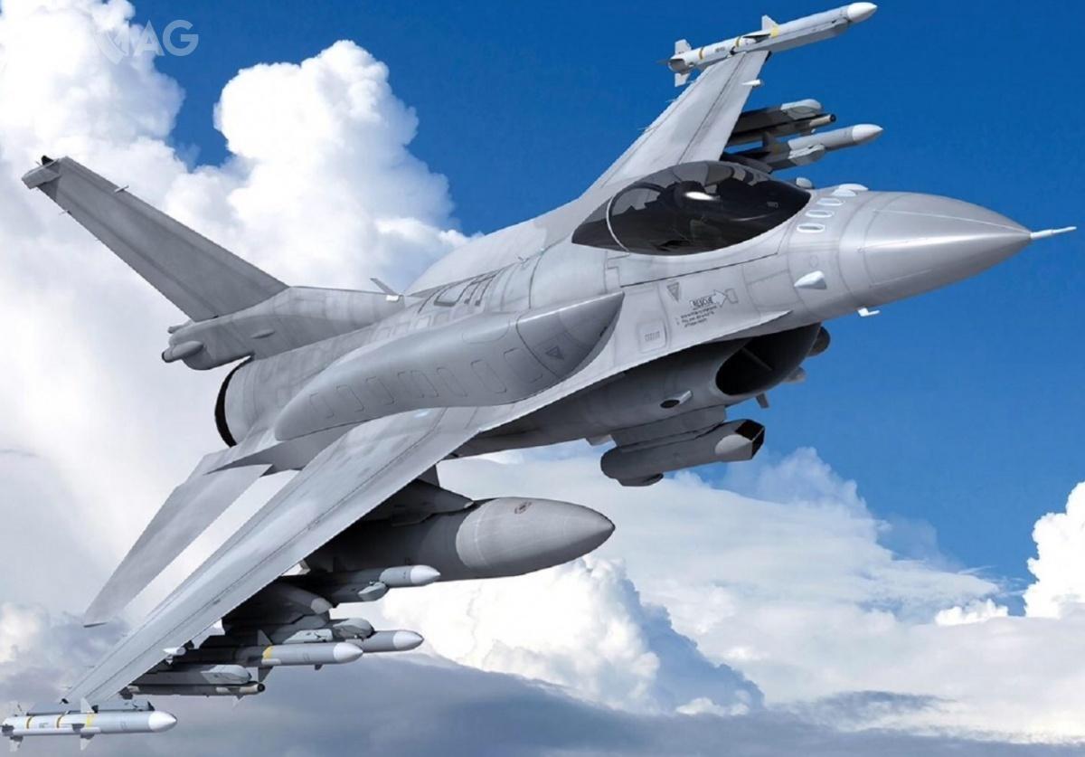 Bułgaria stanie się kolejnym, poTajwania, Bahrajnie, Słowacji, Grecji iMaroku, państwem, które wprowadzi nauzbrojenie najnowszą wersję produkcyjną samolotów F-16 (nowo wyprodukowanych F-16C/D Block 70/72 lub zmodernizowanych dotożsamego standardu F-16V) / Grafika: Lockheed Martin