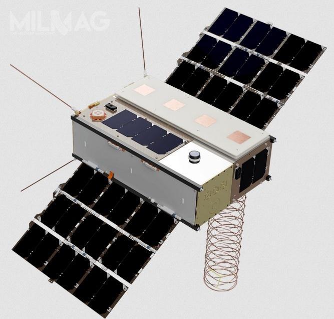 Misja Faraday-1 jest częścią programu, któryobejmie dwa kolejne starty dokońca 2020 (Faraday-1b iFaraday-1c) iostatni dokońca 2021 (Faraday-1d) / Grafika: In-Space Missions