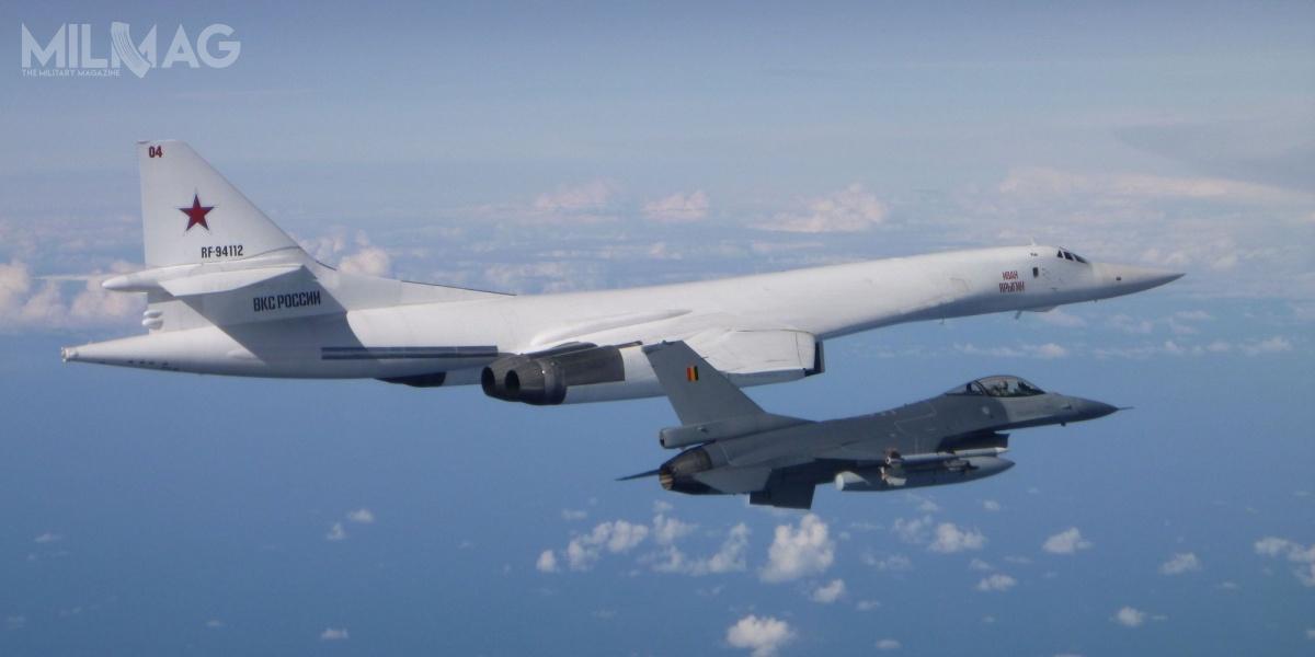 W 2020 roku samoloty wojskowe europejskich państw członkowskich NATO przechwyciły ponad 400 obcych statków powietrznych, zktórychokoło 350 należało dorosyjskich sił zbrojnych / Zdjęcie: Luchtcomponent