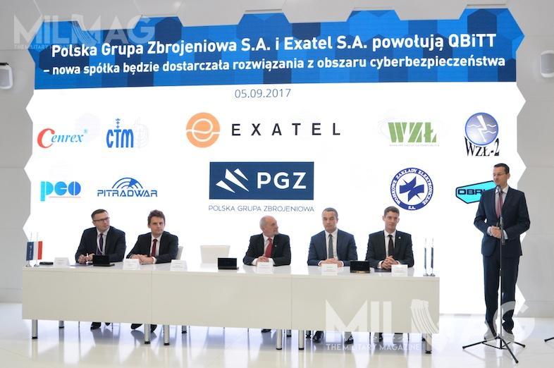 Powołanie nowej spółki tokolejny krok wbudowaniu krajowego systemu zabezpieczenia przedcyberatakami. QBiTT ma odpowiadać zabezpieczeństwo spółek zbrojeniowych orazsamego MON. /Zdjęcie: Paweł Ścibiorek