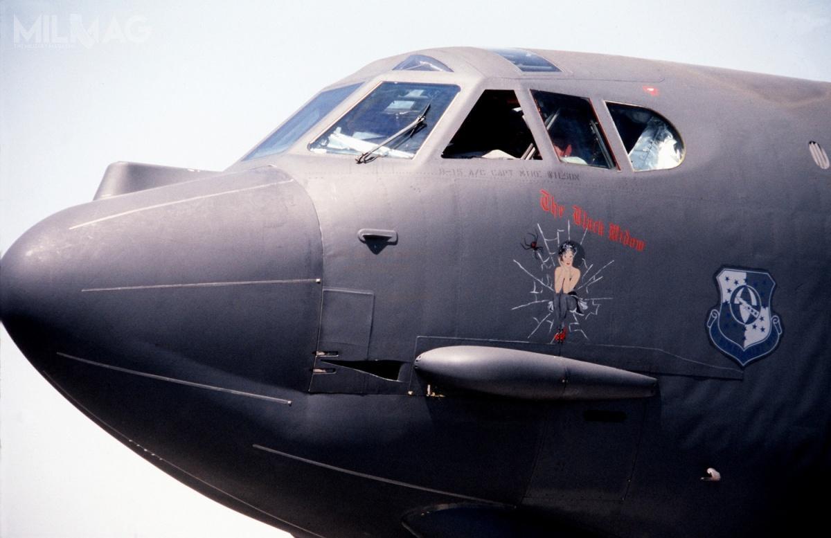 14 maja 2019 przywrócono dosłużby B-52H Stratofortress (60-0034) onazwie własnej Wise Guy, dzięki czemu USAF dysponują teraz łącznie 76 samolotami tego typu, zktórych20 jest zmagazynowanych. / Zdjęcie: USAF
