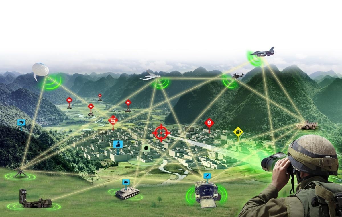 Fire Weaver jest systemem ootwartej architekturze ibezpiecznej komunikacji, przeznaczonym dokoordynacji sieciocentrycznych ataków podczas operacji lądowych orazcyfryzacji pola walki / Grafiki: Rafael Advanced Defense Systems