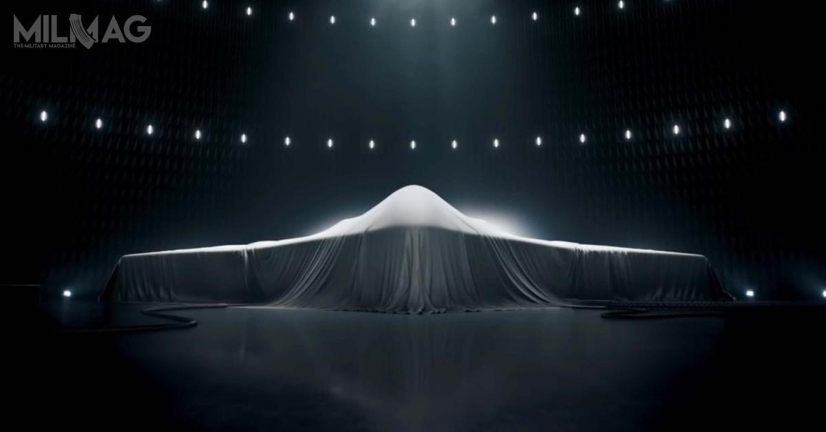 Wizualizacja B-21 Raider, pochodząca zfilmu promocyjnego Northrop Grumman. / Zdjęcia: Northrop Grumman