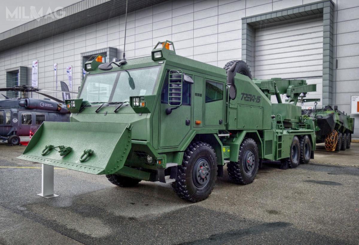 Planowane jest utworzenie spółki joint venture pomiędzy Czechoslovak Group aRheinmetall Landsysteme wKopřivnicach, gdzie mieści się siedziba spółki Tatra DefenseVehicles / Zdjęcie: Excalibur Army