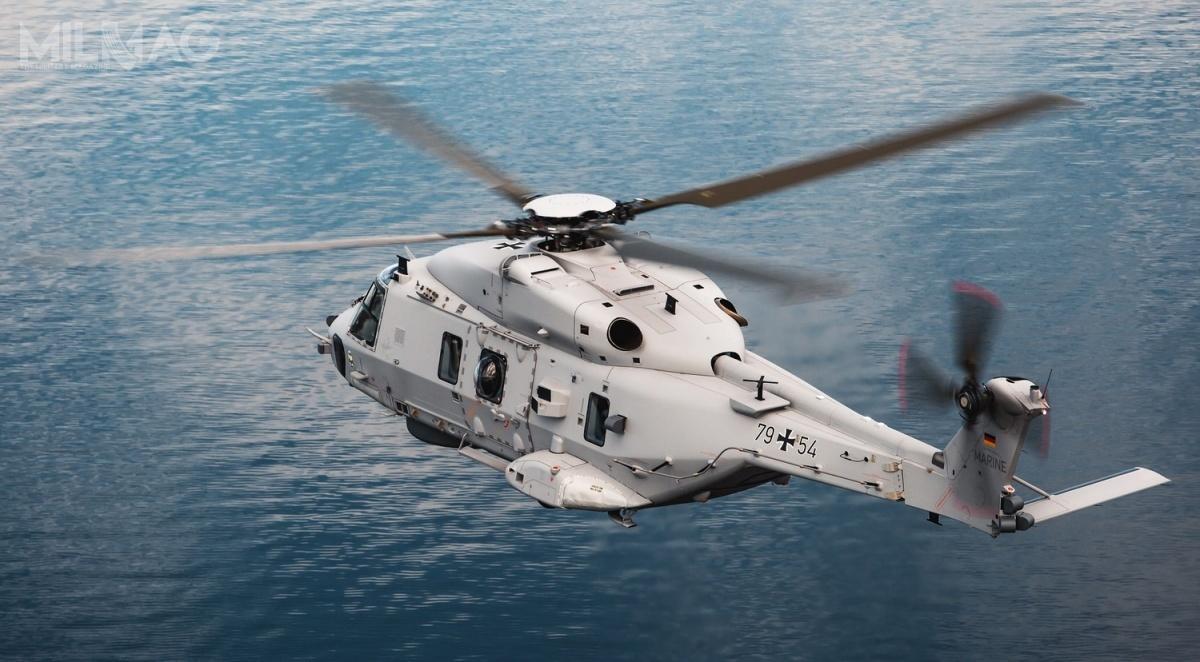 Grupa Rheinmetall AG dostarczy symulator Asterion napotrzeby niemieckich, morskich śmigłowców transportowych NH90 Sea Lion wbazie Fliegerhorst Nordholz wDolnej Saksonii / Zdjęcie: Airbus Helicopters