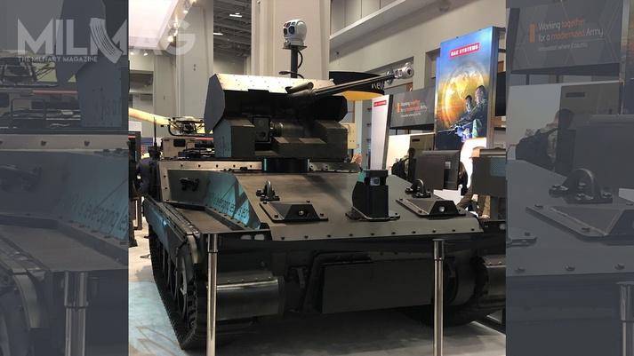 Robotic Technology Demonstrator opracowany przezBAE Systems ma być laboratorium doświadczalnym dla rozwoju bezzałogowych technologii / Zdjęcie: BAE Systems